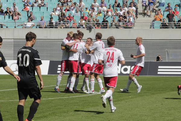 RB Leipzig nur mit Unentschieden gegen Union Berlin II