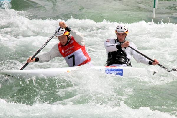 Kanuslalom-Weltcup: Drei Leipziger Boote unter den Top-Ten