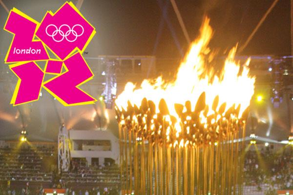 Athleten der Olympischen Spiele 2012 mit furioser Feier in London verabschiedet