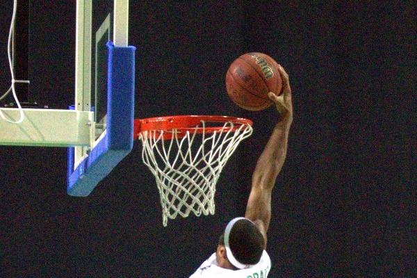 Basketballländerspiel Deutschland gegen Georgien in Leipzig