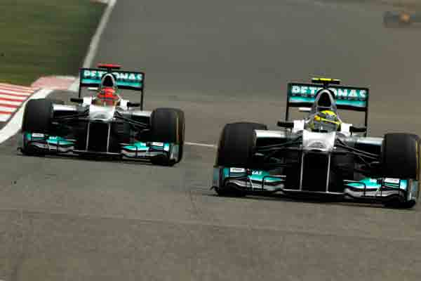 Nico Rosberg holt Pole beim Grand-Prix in China