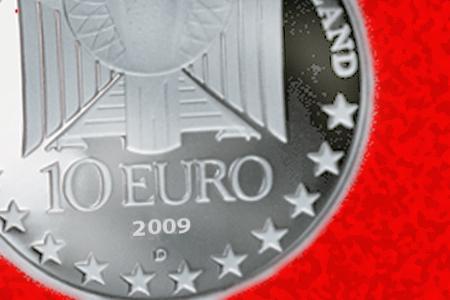10 Euro Gedenkmuenze Zum 600 Jubiläum Der Universitaet Leipzig